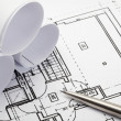 Architecture blueprints. — Stock Photo