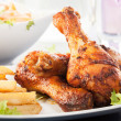 chicken drumsticks — Stock Photo