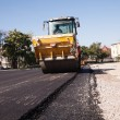 Asphalt paving — Stock Photo