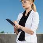 Female engineer — Stock Photo