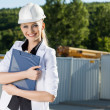 Stock Photo: Female engineer