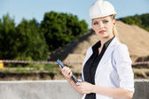 Female engineer — Stockfoto
