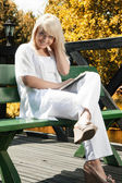 Young woman planning — Stock Photo