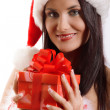 Stock Photo: Sexy young Santa Girl
