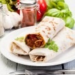 Mexican burritos — Foto Stock
