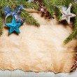 Christmas tree with decoration — Stock Photo #35100453