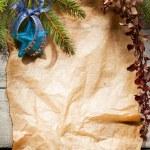 Christmas tree with decoration — Stock Photo #35100455