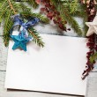 Christmas tree with decoration — Stock Photo #35100459