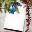 Christmas tree with decoration — Stock Photo #35100605