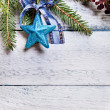 Christmas tree with decoration — Foto de Stock