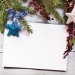 Carte de Noël — Photo