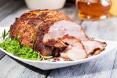 Roasted shoulder — Foto Stock