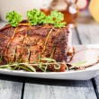 Roasted shoulder — Stock Photo