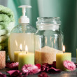 Stock Photo: SPstill life: aromatherapy candle