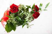 Ramo de rosas rojas — Foto de Stock