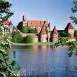 Teutonic castle in Malbork — Stock Photo #40026903