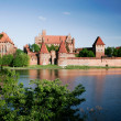 Teutonic castle in Malbork — Stock Photo #40026941