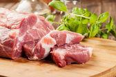 Fresh raw pork — Stok fotoğraf