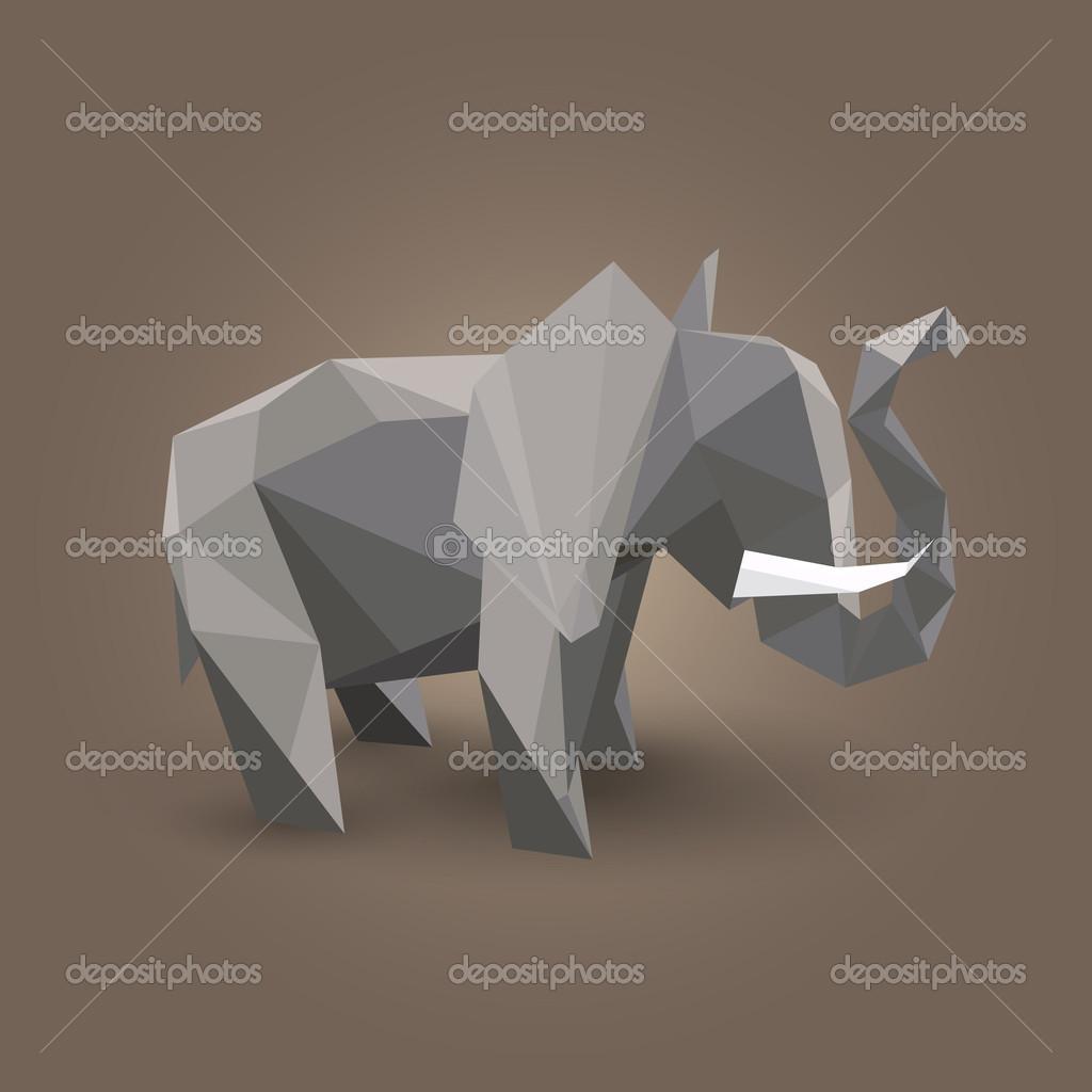 Elefante de origami, Origami and Elefantes on Pinterest - photo#29