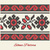 Vector ethnic pattern. — Stock Vector