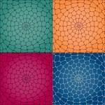 Vector mosaic background. — Stock Vector