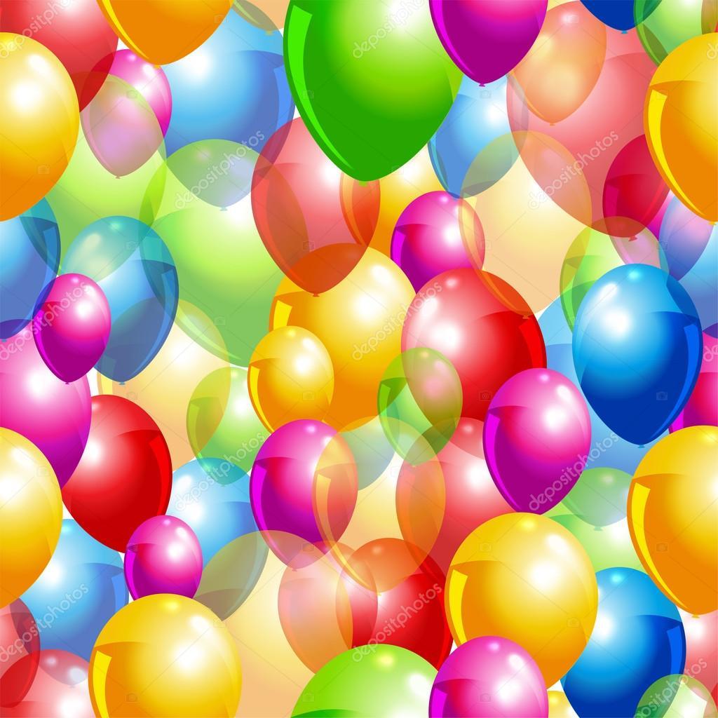 矢量气球背景— 矢量图片作者