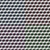 Sfondo monocromatico cubi. — Vettoriale Stock