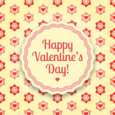 Vector background for Valentine's Day — Stock Vector
