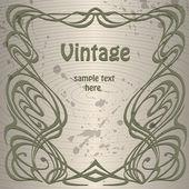Vector vintage background. — Stock Vector