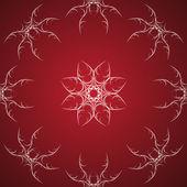 Vector red background. — Stock Vector
