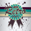 Vector retro background. — Stock Vector #18468327