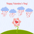 Vector card for Valentine's day. — Imagen vectorial