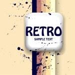 Vector retro background. — Stock Vector