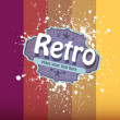 Vector retro colorful background. — Stock Vector