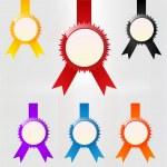 Vector set of emblems. — Stock Vector