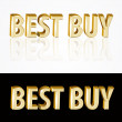 Best buy sign. — Stock Vector