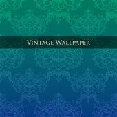 Vector vintage wallpaper. — Stock Vector