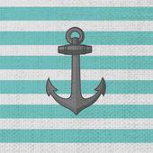 Anchor. Vector icon. — Stock Vector