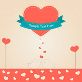 Valentine day vector — Stock Vector