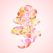 Abstract floral background. — Stock Vector