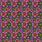 Vector floral background. — Stock Vector
