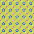 Seamless flower pattern background — Vettoriali Stock
