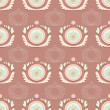 Vector vintage background. — Vector de stock