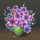 Bouquet. — Vettoriale Stock