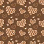 Background with hearts. — Stock Vector