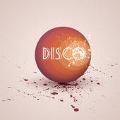 Retro disco ball. — Stock Vector