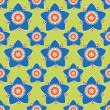 Seamless flower pattern background — Vector de stock #19160621