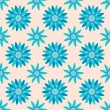 Seamless flower pattern background — Stock Vector #19223011