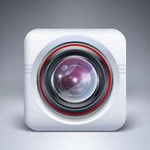 Web camera icon. — Stock Vector