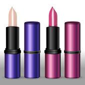 Lipsticks. — Stock Vector
